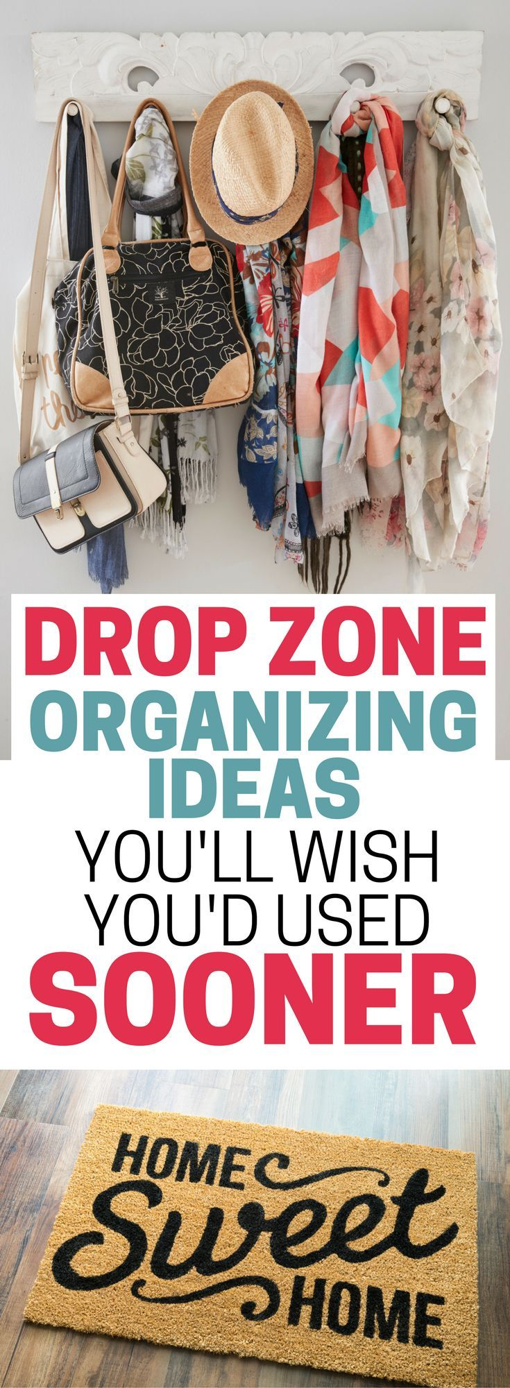 drop zone organizing ideas you ll wish you d used sooner on garage organization ideas that will save you space keeping things simple id=68330