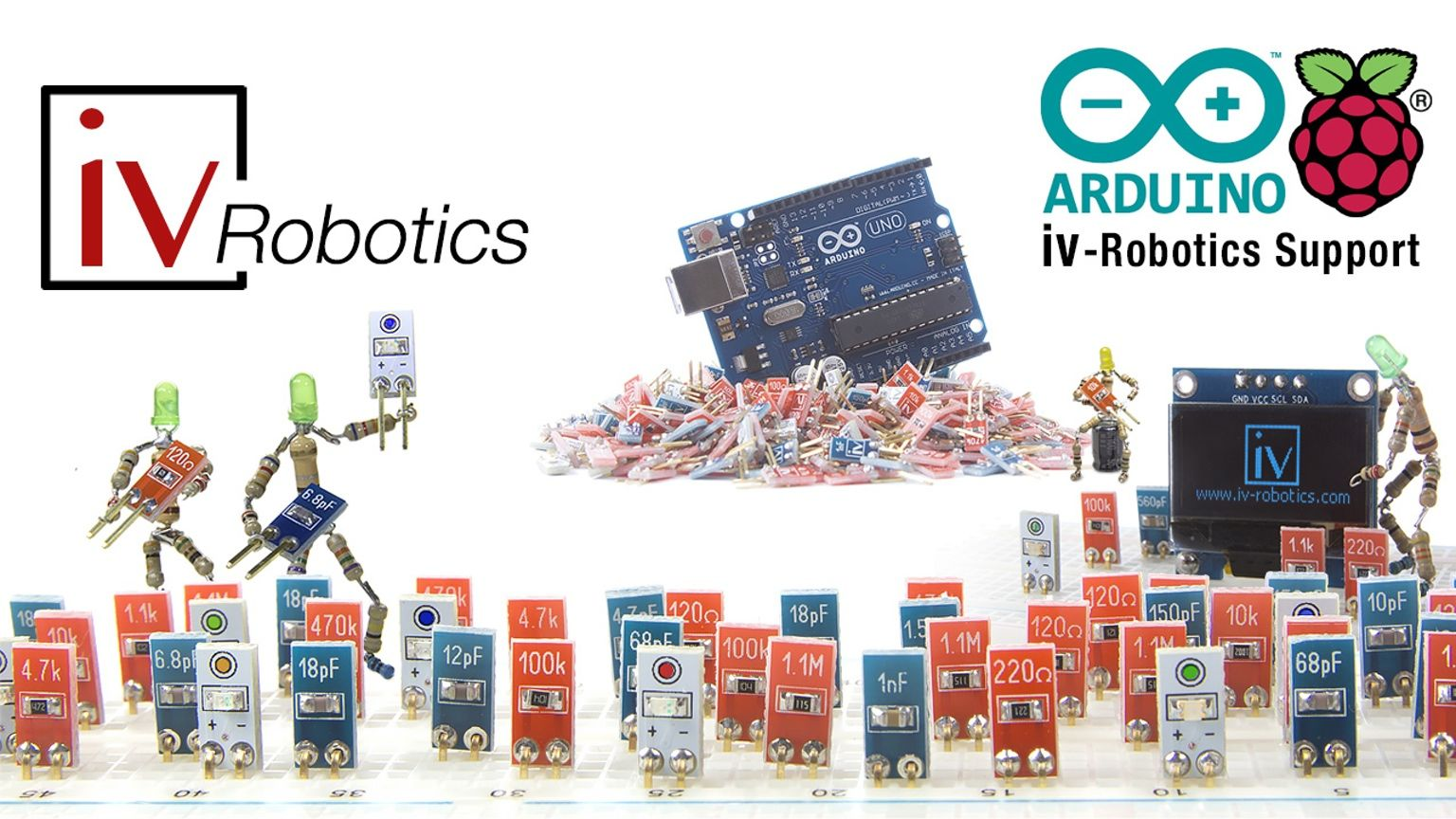 iv-Robotics presents the first electrical components