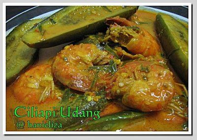 Hanieliza S Cooking Masak Lemak Udang Daun Kunyit Memasak Masakan Malaysia Resep Makanan