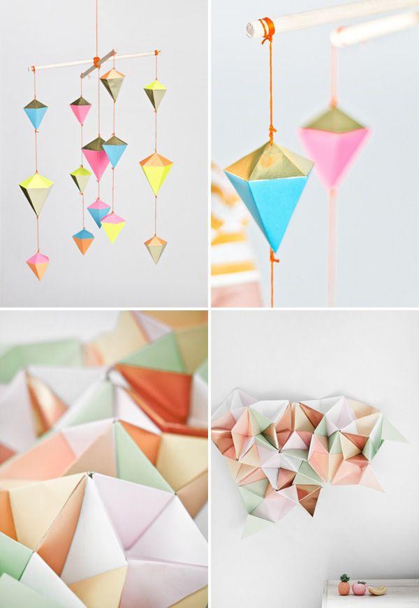 Marsha-Projekte | # Origami | Pinterest | Papier, DIY Papier und ...
