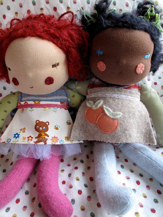 Beautiful Custom Waldorf Dolls