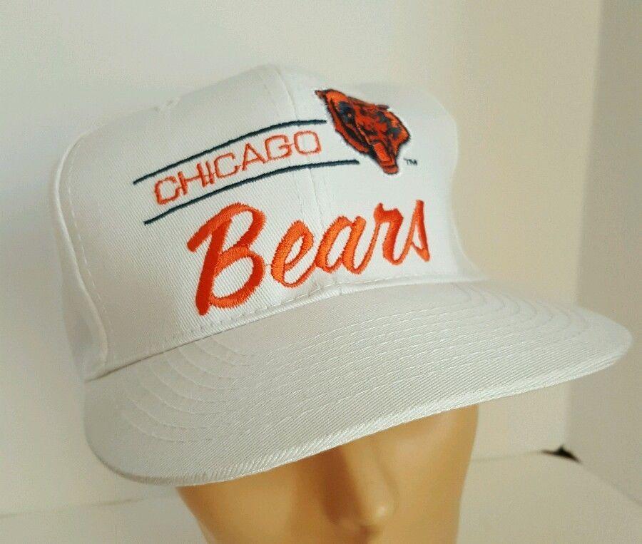 3f0e9906144893 ... hot vintage chicago bears script snapback hat nfl football corduroy  annco annco chicagobears df875 8d4be