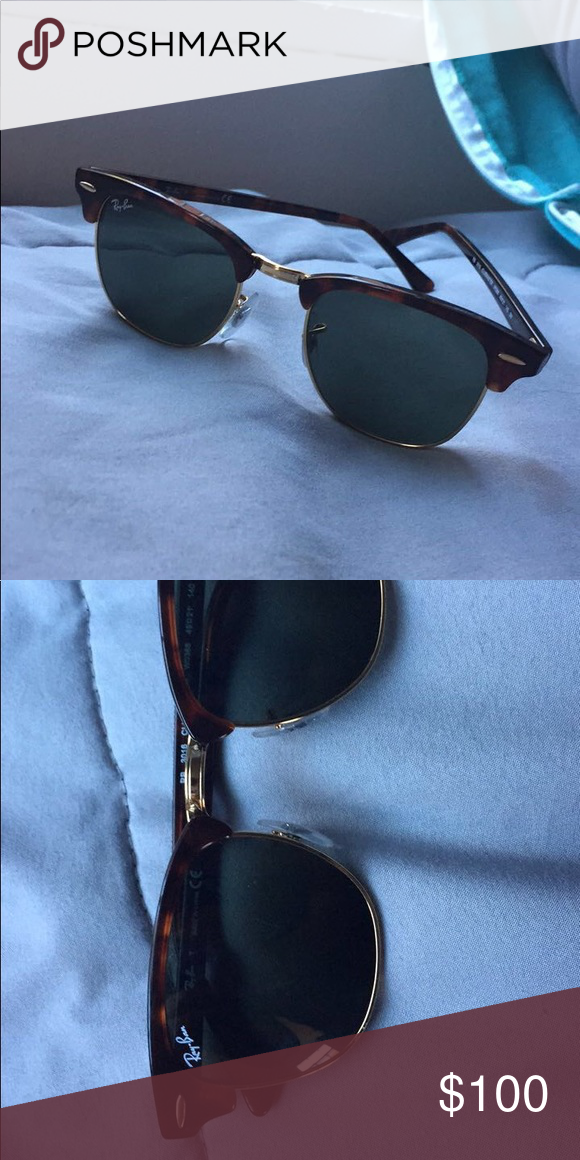 86f451a454e Ray-Ban Clubmaster Classic Tortoise shell frame