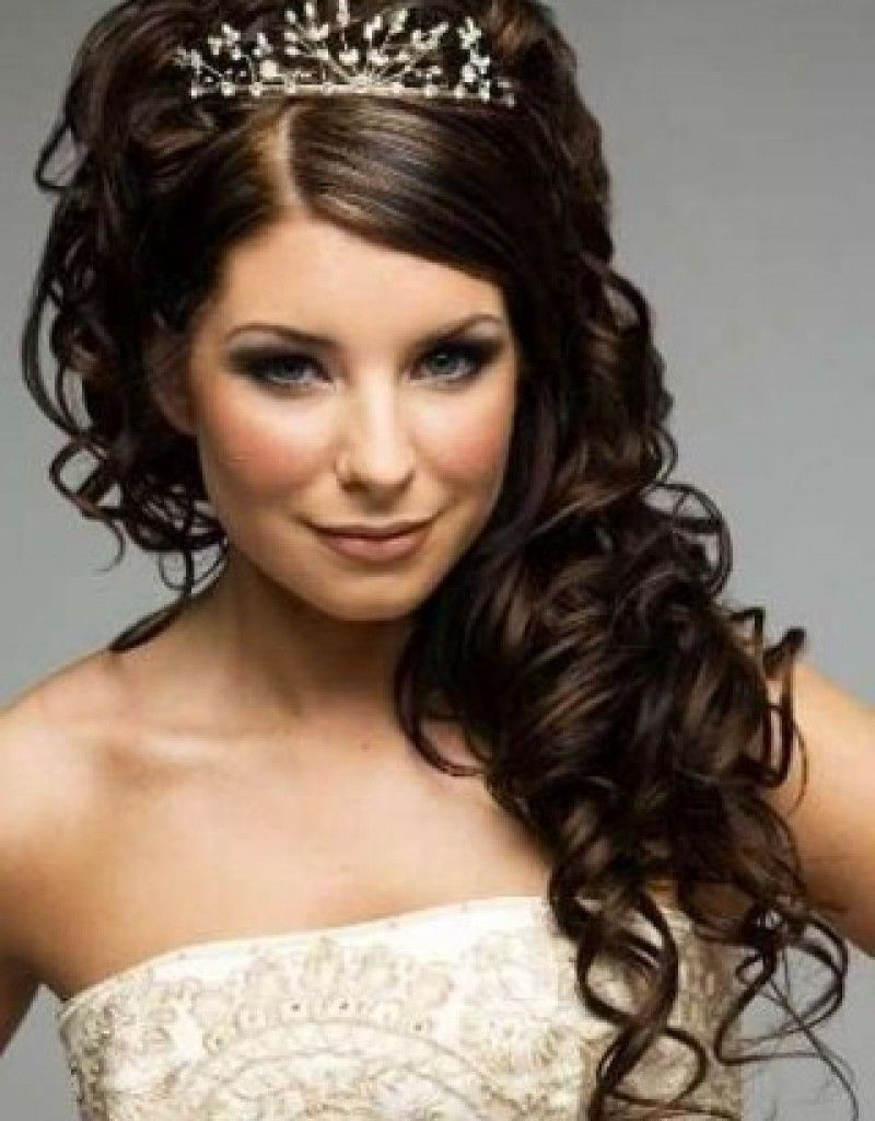 20 best curly wedding hairstyles ideas | weddings, curly wedding
