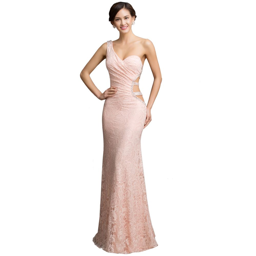 Long party dresses mermaid dress long pink evening dresses with