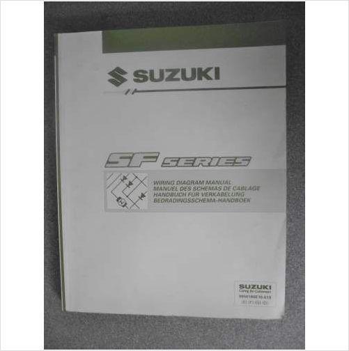 Suzuki Sf Series Wiring Diagram Manual 2000 9950180e10