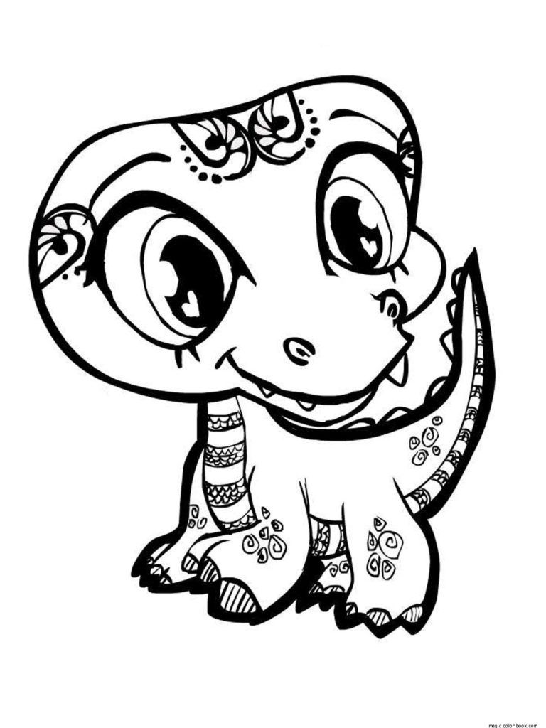 Littlest Pet Shop Coloring Pages Great Printouts Cute Coloring