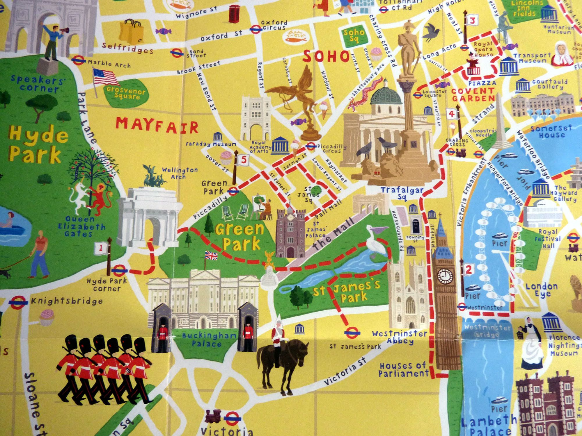 London Sight seeing Map Pinterest Search