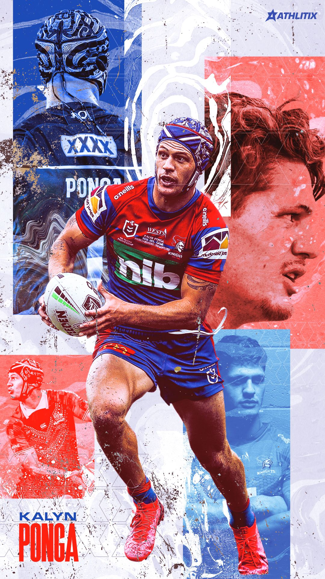 Kalyn Ponga Wallpaper In 2020 Newcastle Knights Rugby League National Rugby League