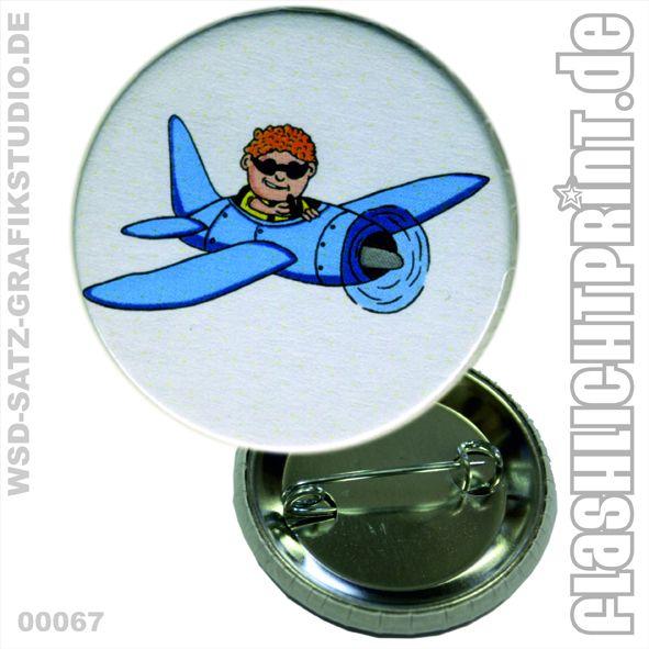 Pilot - Button von FLASHLIGHTprint auf DaWanda.com