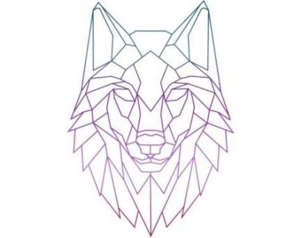 Super Tattoo Animal Line Drawings 67 Ideas Geometric Wolf Geometric Wolf Tattoo Geometric Tattoo