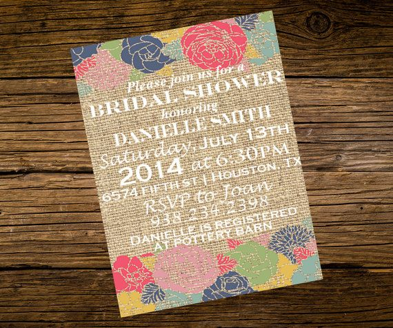 Pinterest Wedding Shower: Best 25+ Burlap Bridal Showers Ideas On Pinterest