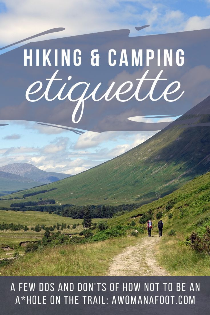 Photo of Hiking & Camping Etiquette or How NOT to Be an A*hole on the Trail — A Woman Afoot