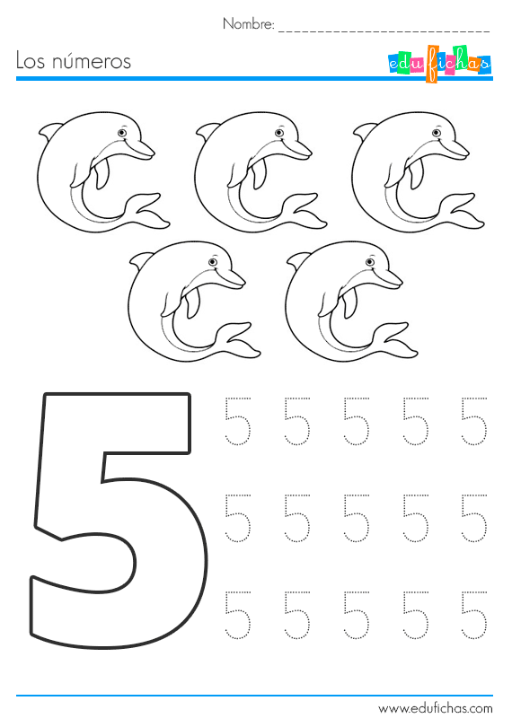 Preschool Math Activities For Kids Ficha Numeros Verano 5 570x810