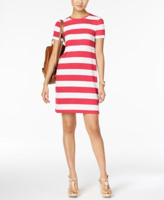 d352ad9c640 MICHAEL Michael Kors Striped T-Shirt Dress  88.00 Take your casual look to  new heights in this adorable T-shirt dress from MICHAEL Michael Kors.