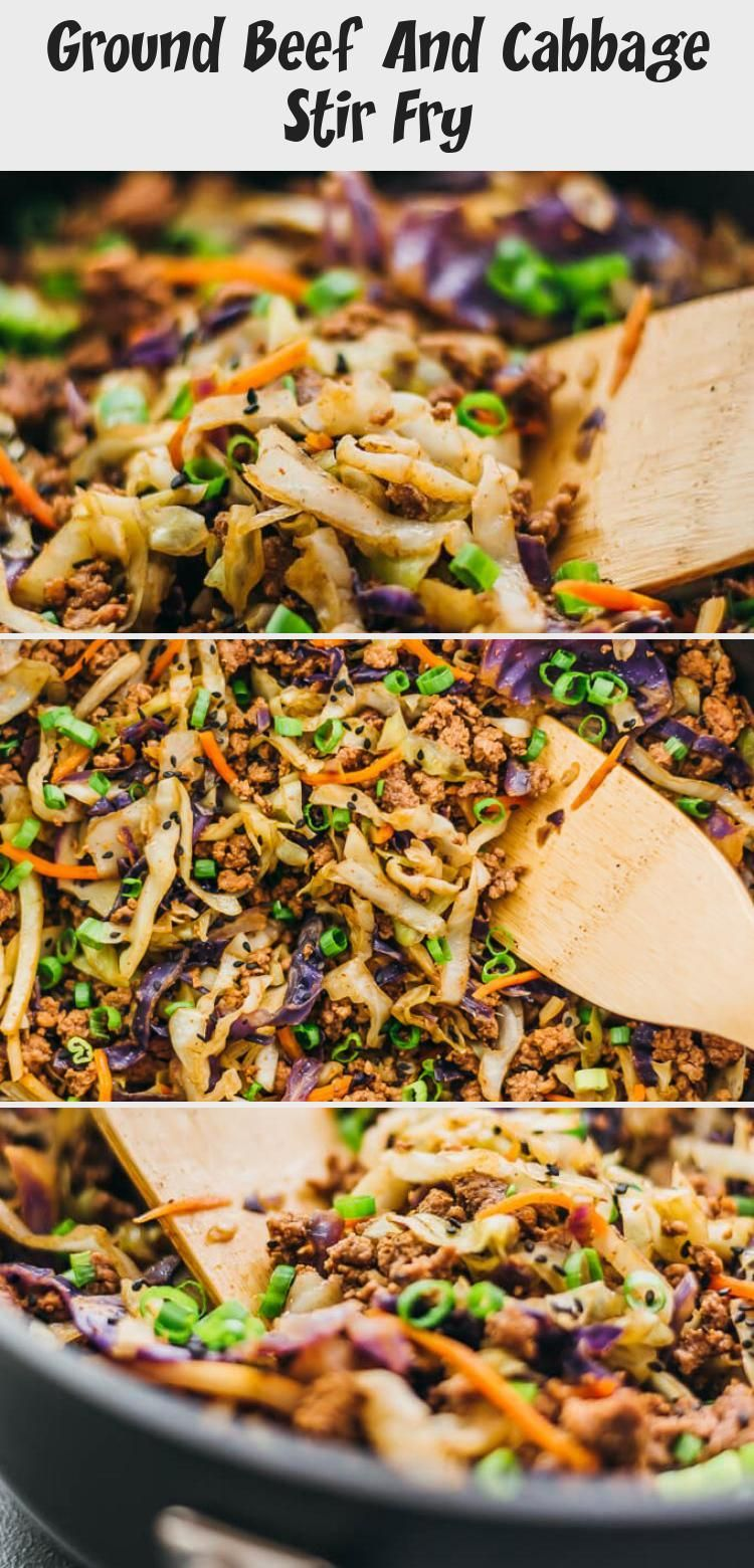 Ground Beef And Cabbage Stir Fry Dinner Recipes In 2020 Ground Beef And Cabbage Stir Fry Dinners How To Cook Pasta