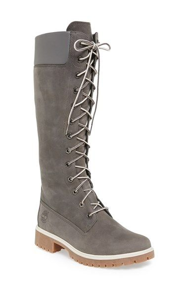 ecd2d62d3b13 Free shipping and returns on Timberland Earthkeepers® Waterproof Tall Boot ( Women) at Nordstrom.com. A striking knee-high silhouette lends a feminine  update ...