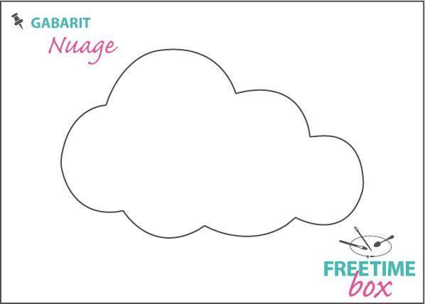 gabarit nuage plastique fou pinterest gabarit nuage et plastique fou. Black Bedroom Furniture Sets. Home Design Ideas