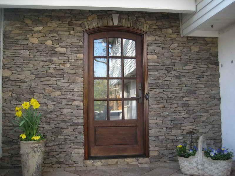 Stone Around Doors