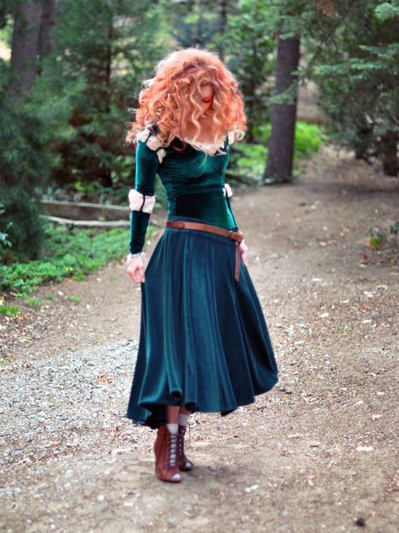 diy merida costume 2018 diy halloween costume ideas pinterest kost m halloween und kost m. Black Bedroom Furniture Sets. Home Design Ideas