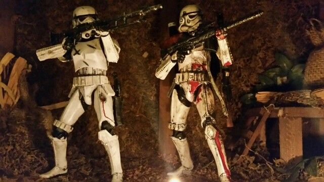 """ Till the last shot is fired , dying breathe "" 6"" Black Series Stormtrooper. STAR WARS"