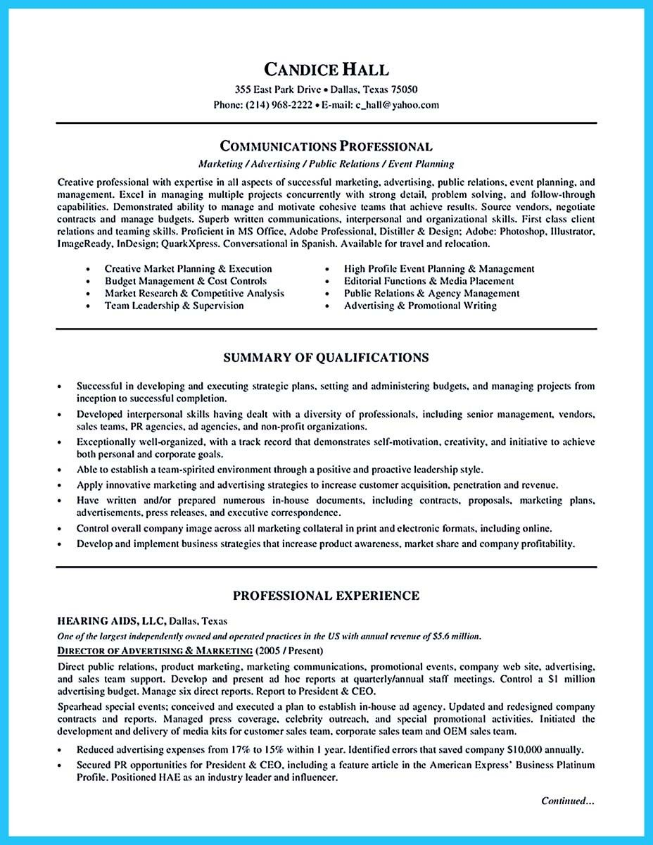 Nice Starting Your Career Now With A Relevant Athletic Director Resume