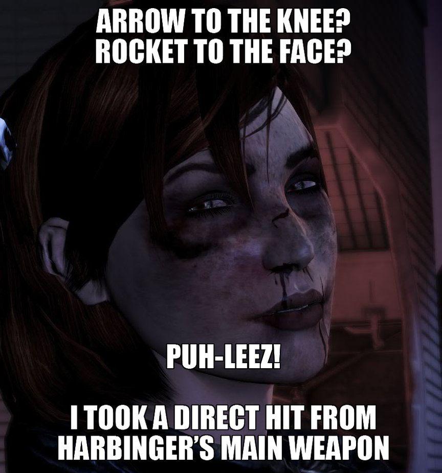 Femshep Meme By Corrupttemplar Mass Effect Funny Mass