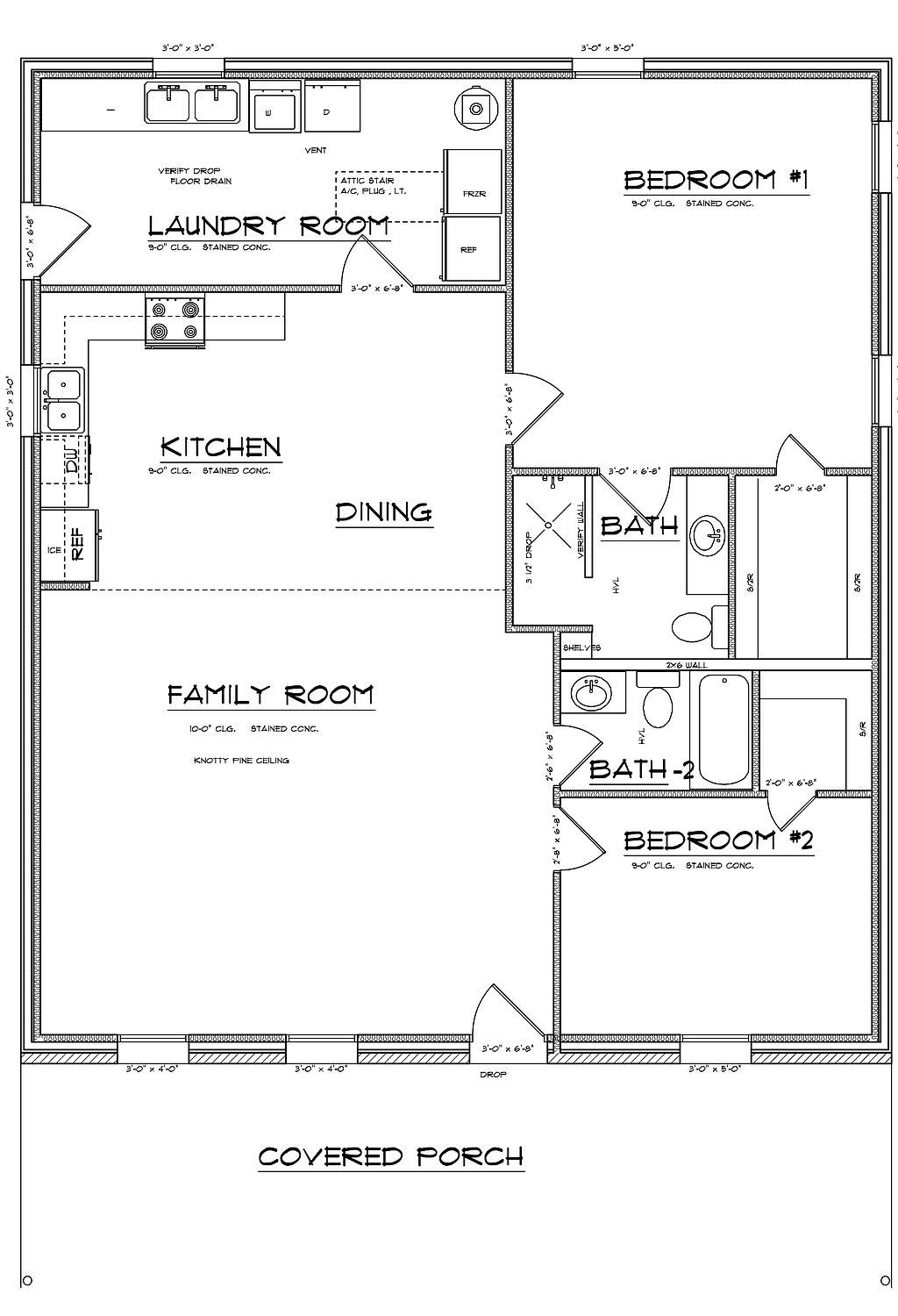 Barndominium and metal building specials cabin style for Metal house floor plans