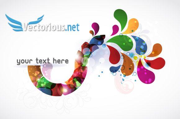 Vector art abstract colorful background also design idea pinterest free rh za