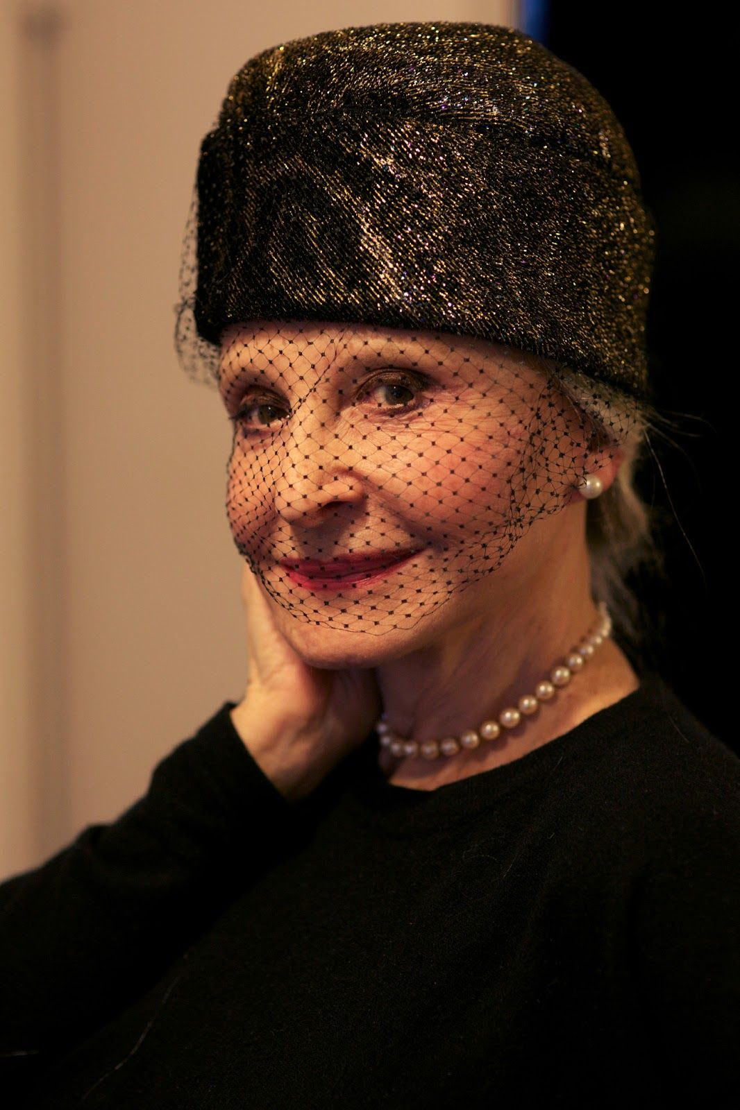 80-year-old Joyce Carpati...proof that wearing a hat makes you FABULOUS!!!