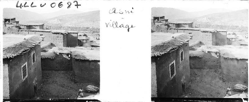 Asni   Le village    1933.04