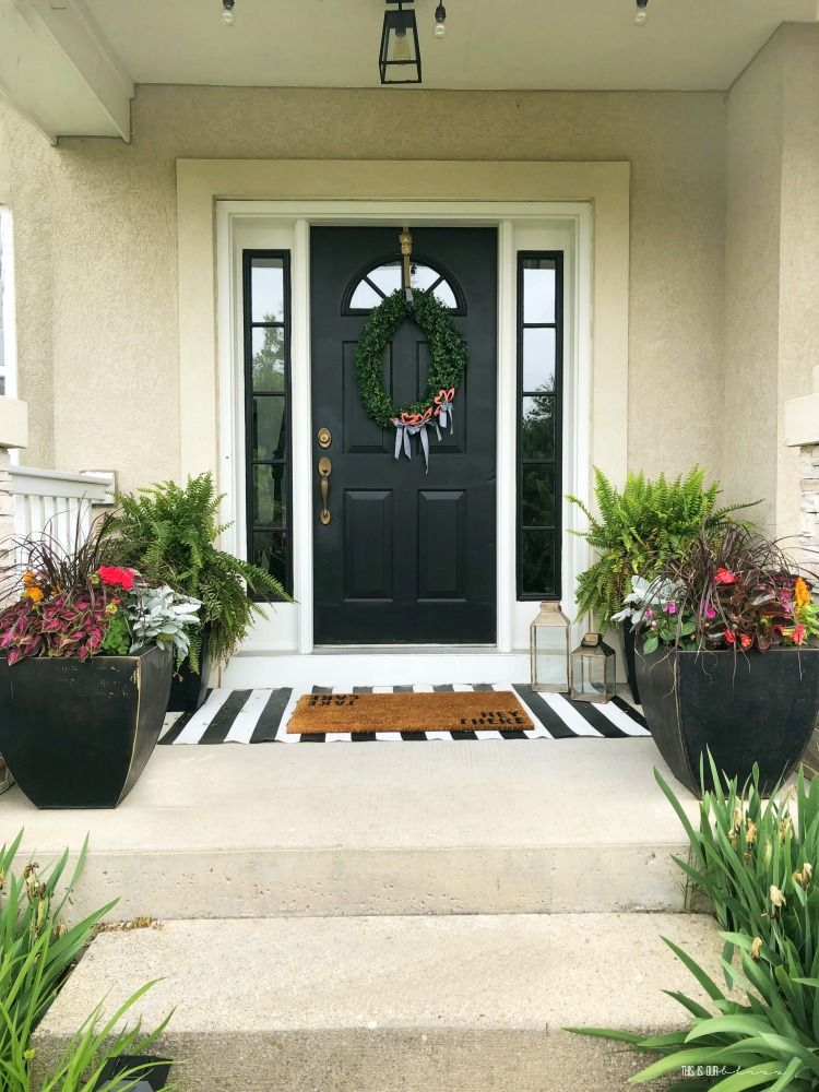 how to spruce up your front porch small porch decorating on stunning backyard lighting design decor and remodel ideas sources to understand id=48216