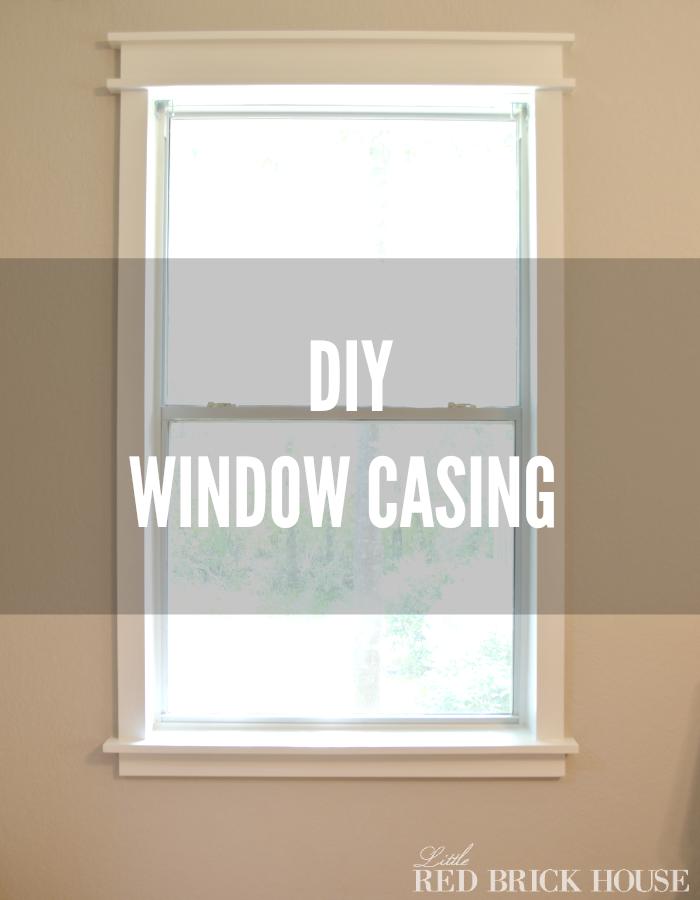 Diy Window Casing Diy Window Diy Window Trim Window Casing
