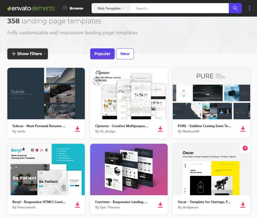 25 Finest Free (Splash) Touchdown Web page Templates for