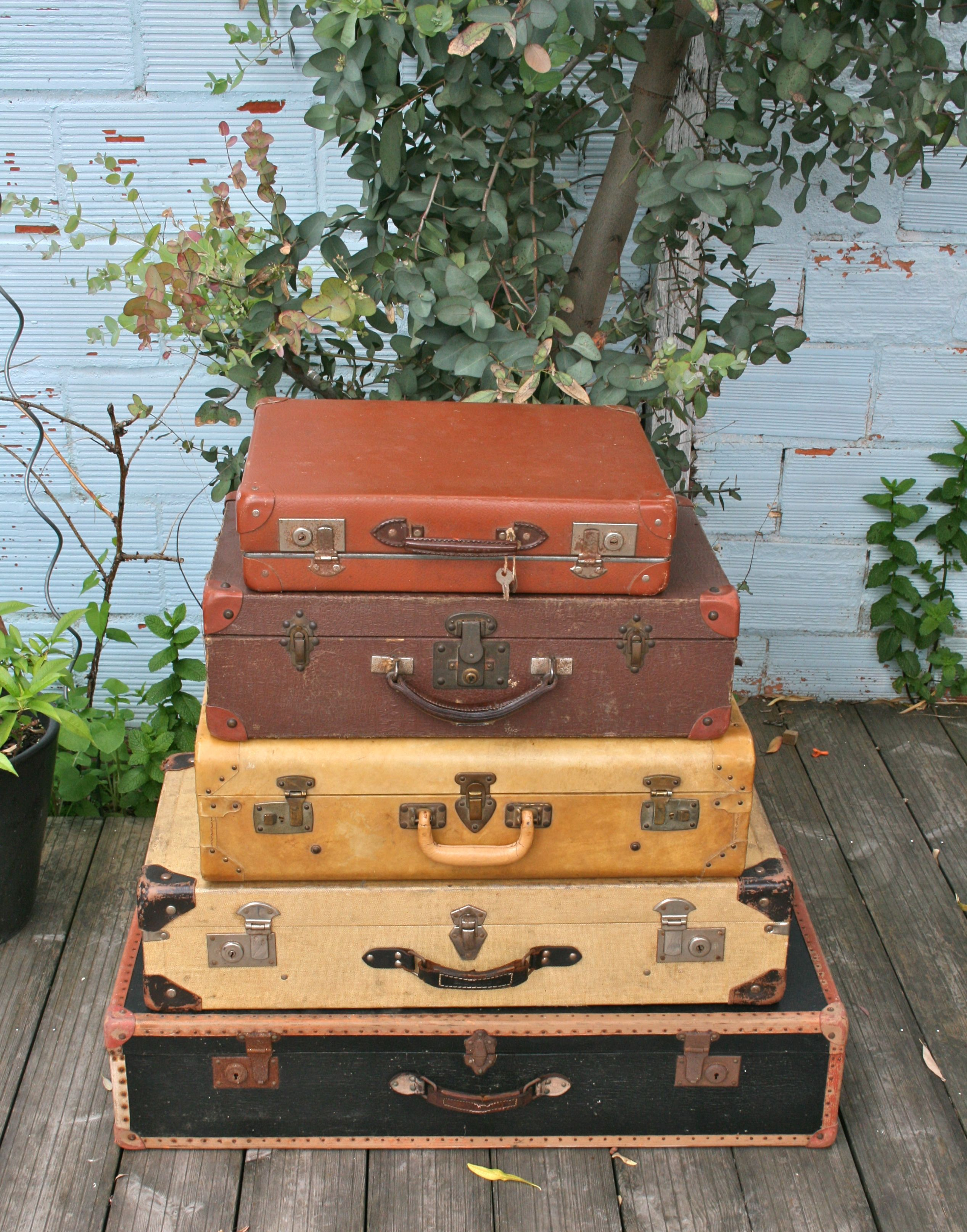 collection de valises anciennes vintage ephemera pinterest suitcase vintage luggage and. Black Bedroom Furniture Sets. Home Design Ideas