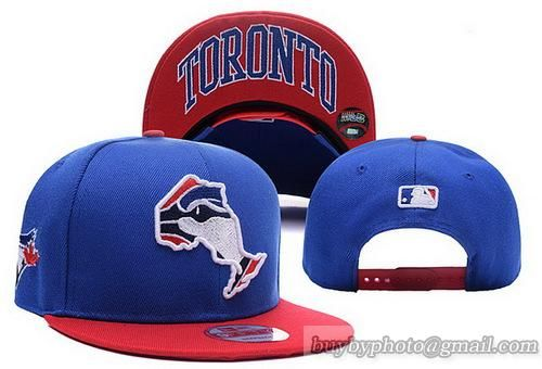 MLB Toronto Blue Jays Incomplete Logo Snapback Hats Caps  9df9765d1e3
