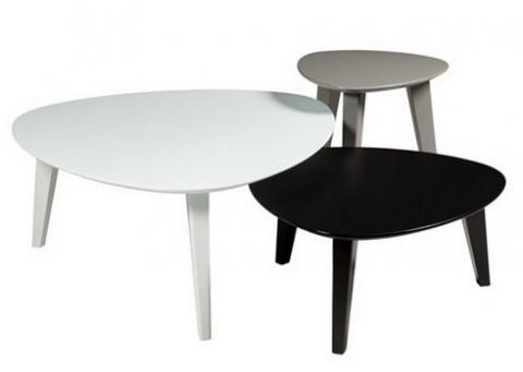 Tables Basses Gigognes Stone But Vu Dans La Presse A Retrouver Sur Selectionnist Com Table Basse Table Basse Gigogne Meuble Canape