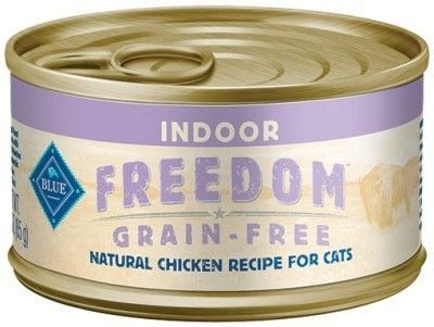 BLUE BUFFALO CAT WET - FREEDOM INDOOR CAT CHICKEN - 24/5.5OZ - BLUE BUFFALO COMPANY - UPC: 859610008957 - DEPT: BLUE BUFFALO