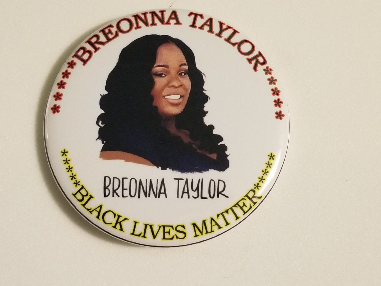 Breonna Taylor Pinback Button Black Lives Matter 2 25 Inch Etsy In 2020 Buttons Pinback Black Lives Black Lives Matter