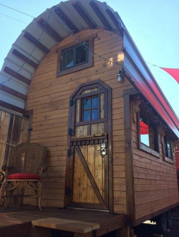roly poly 80 sq ft tiny house vacation in portland oregon tiny rh pinterest com