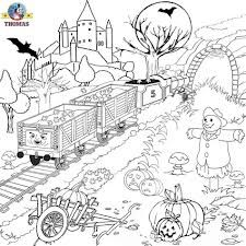 Thomas The Train Coloring Pages Google Search Halloween Coloring Sheets Detailed Coloring Pages Halloween Coloring Pages Printable
