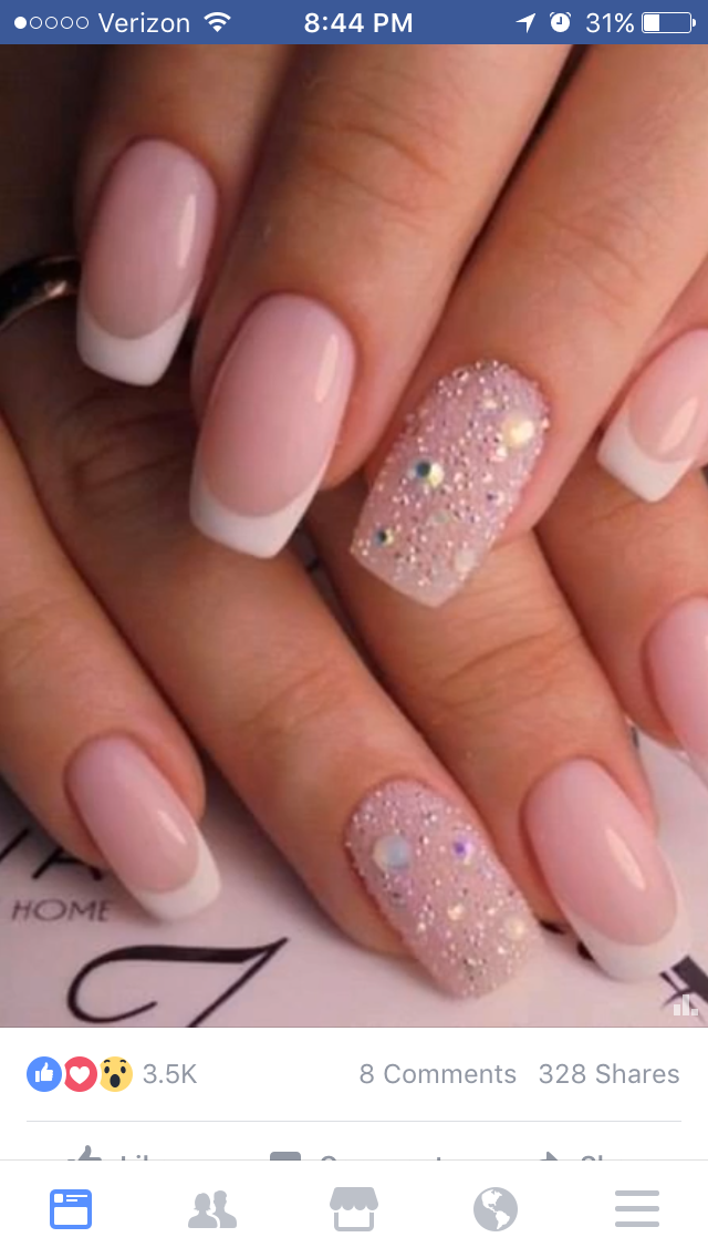 Pin by Courtney Toussaint on Nails | Pinterest | Manicure, Nail nail ...