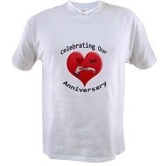 1st. Anniversary Value T-shirt