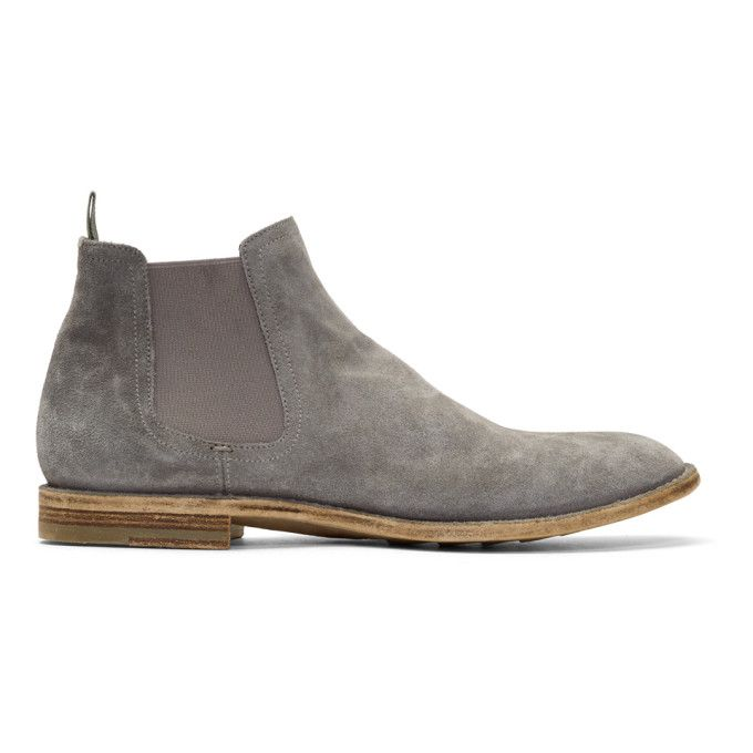 Officine creative Grey Standard 8 Chelsea Boots 4tJtAcjzq