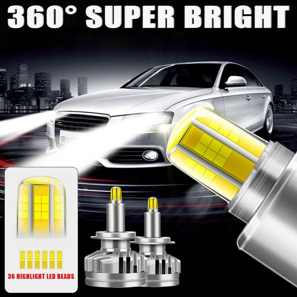 H 1h4 H7 H11 9005 9006 9007 Led Headlight 80w 8000lm 6500k Car Led Headlights Bulb Auto Fog Light Car Headlight Bulbs Led Headlights Cars Car Led Lights