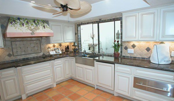 Black Glazed Kitchen Cabinets | glazed white kitchen 25 Awe ...
