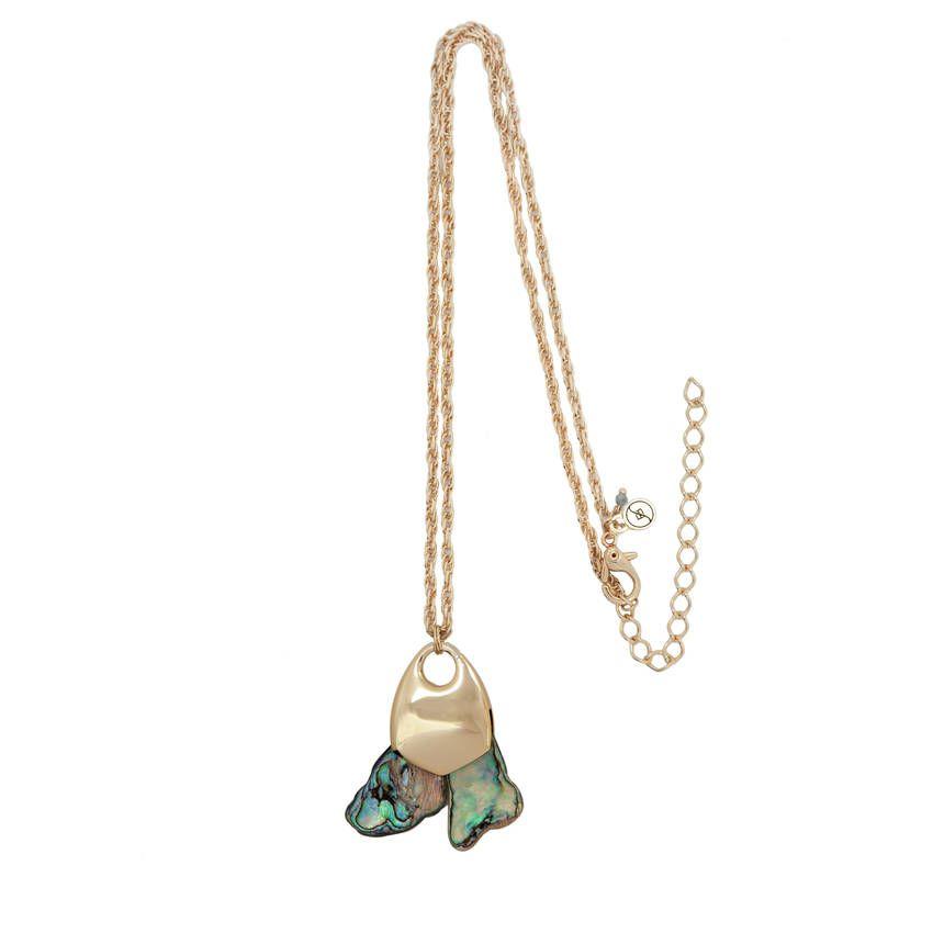 Colar com conchas abalone importadas - Flair por Flavia Baldi