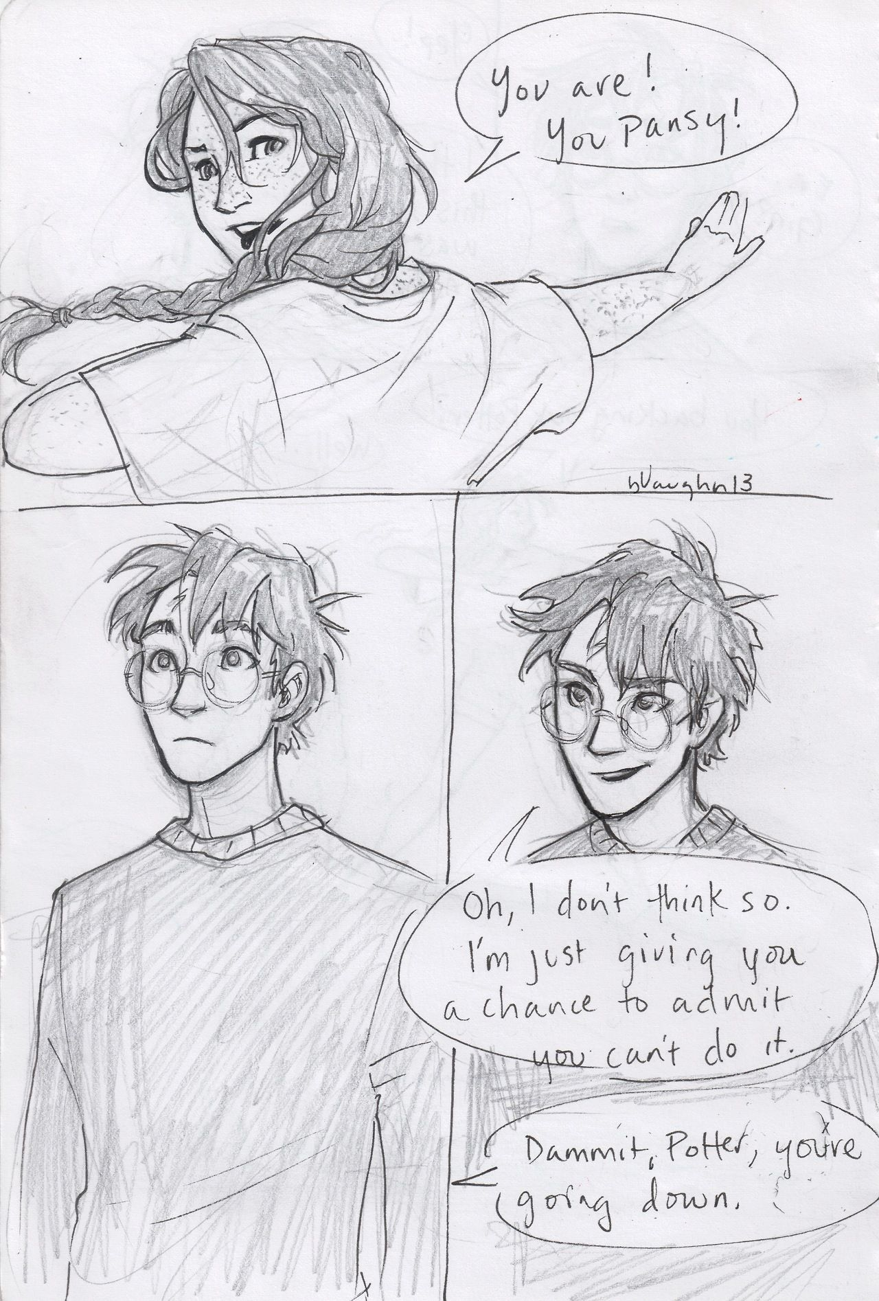 Harry And Ginny Comic By Burdge-Part 2  Fans De Harry -2322