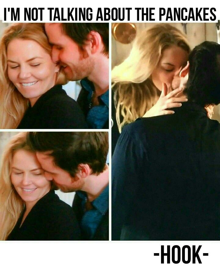 """""""I'm not talking about the pancakes"""" 5x18 """"Where Bluebirds Fly"""" #onceuponatime #ONCE #CaptainSwan #ouat"""