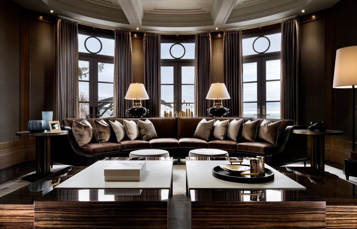 Ferris Rafauli Iconic Luxury. A Fabulous Designer Living Room...He Could  Design Anything For Me U0026 I Be VERY HAPPY!